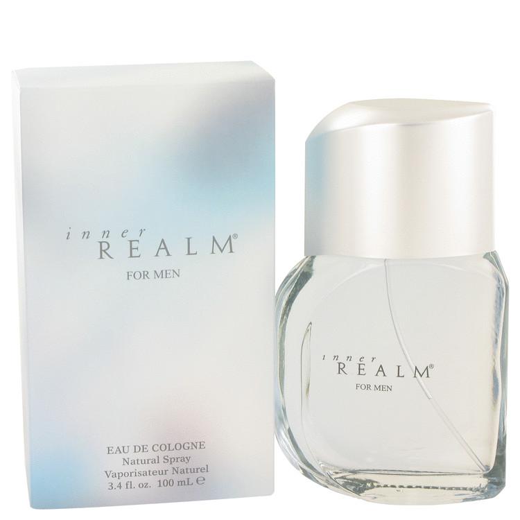 Inner Realm by Erox Eau De Cologne Spray (New Packaging) 3.4 oz Men