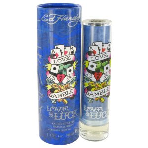 Love & Luck by Christian Audigier Eau De Toilette Spray 1.7 oz Men
