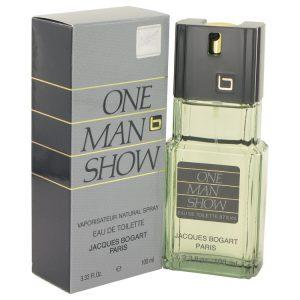 ONE MAN SHOW by Jacques Bogart Eau De Toilette Spray 3.3 oz Men