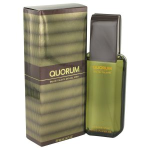 QUORUM by Antonio Puig Eau De Toilette Spray 3.4 oz Men