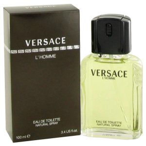 VERSACE L'HOMME by Versace Eau De Toilette Spray 3.4 oz Men