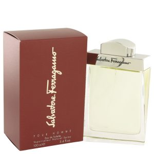 SALVATORE FERRAGAMO by Salvatore Ferragamo Eau De Toilette Spray 3.4 oz Men