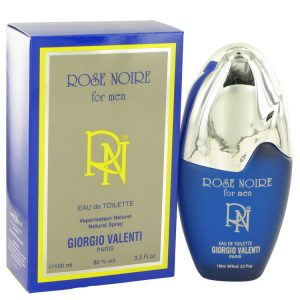 ROSE NOIRE by Giorgio Valenti Eau De Toilette Spray 3.4 oz Men