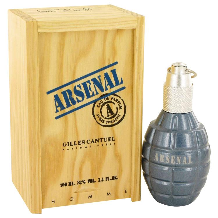 ARSENAL BLUE by Gilles Cantuel Eau De Parfum Spray 3.4 oz Men