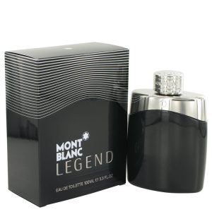 MontBlanc Legend by Mont Blanc Eau De Toilette Spray 3.4 oz Men