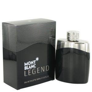 MontBlanc Legend by Mont Blanc Eau De Toilette Spray 3.4 oz Men