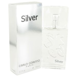 CARLO CORINTO SILVER by Carlo Corinto Eau De Toilette Spray 3.4 oz Men