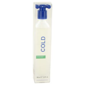 COLD by Benetton Eau De Toilette Spray 3.4 oz Men