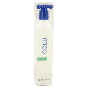 COLD by Benetton Eau De Toilette Spray 3.4 oz Men