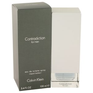 CONTRADICTION by Calvin Klein Eau De Toilette Spray 3.4 oz Men