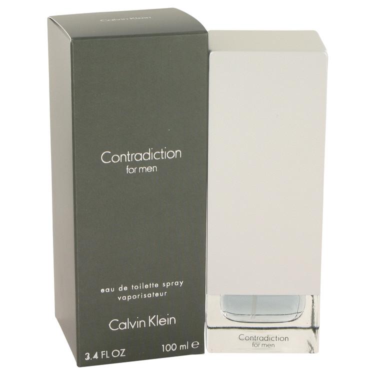 CONTRADICTION by Calvin Klein Eau De Toilette Spray 3.4 oz Men