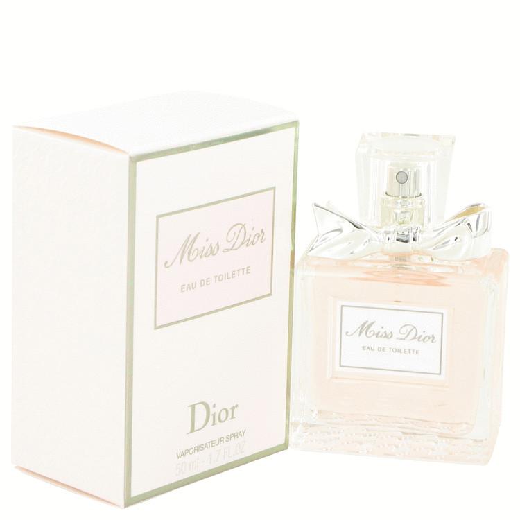 Miss Dior (Miss Dior Cherie) by Christian Dior Eau De Toilette Spray (New Packaging) 1.7 oz Women