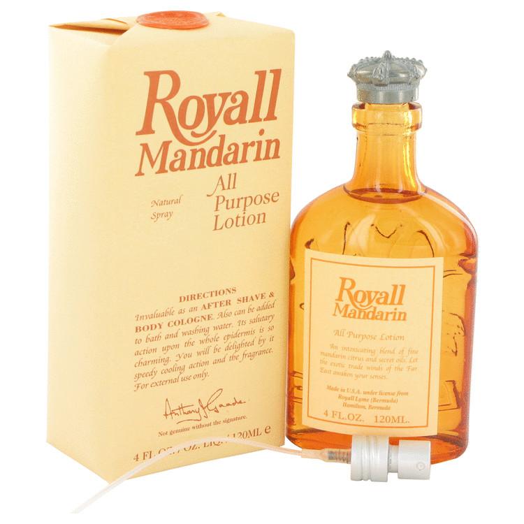 Royall Mandarin by Royall Fragrances All Purpose Lotion / Cologne 4 oz Men