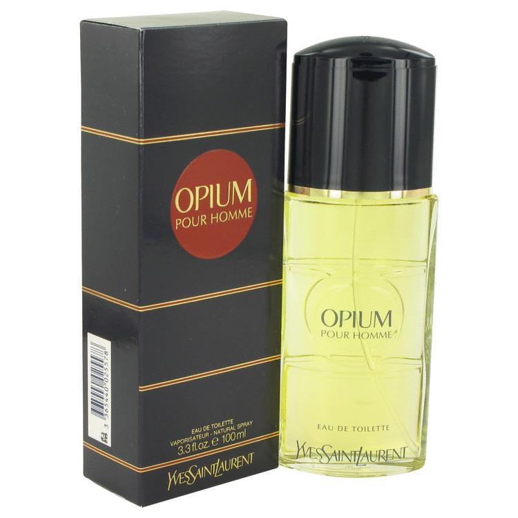 OPIUM by Yves Saint Laurent Eau De Toilette Spray 3.3 oz Men