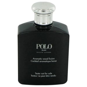 Polo Black by Ralph Lauren Eau De Toilette Spray (Tester) 4.2 oz Men
