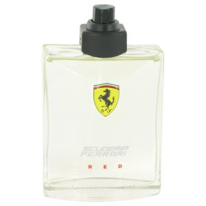 Ferrari Scuderia Red by Ferrari Eau De Toilette Spray (Tester) 4.2 oz Men