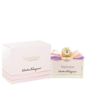 Signorina by Salvatore Ferragamo Eau De Toilette Spray 3.4 oz Women