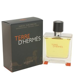 Terre D'Hermes by Hermes Pure Pefume Spray 2.5 oz Men