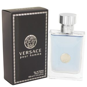 Versace Pour Homme by Versace Eau De Toilette Spray 3.4 oz Men