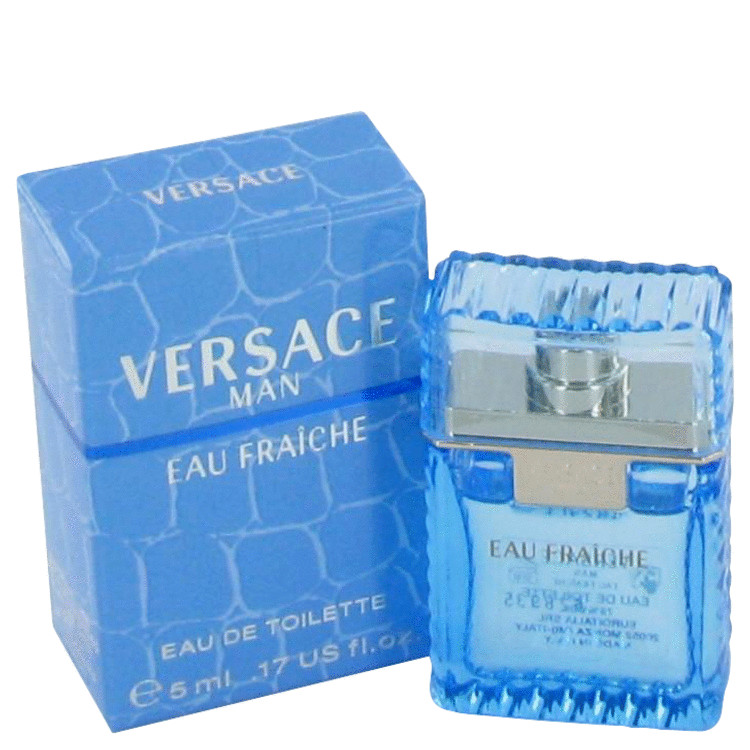 Versace Man by Versace Mini Eau Fraiche .17 oz Men