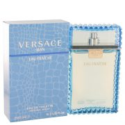 Versace Man by Versace Eau Fraiche Eau De Toilette Spray (Blue) 6.7 oz Men