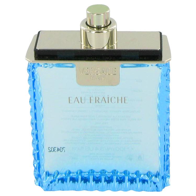 Versace Man by Versace Eau Fraiche Eau De Toilette Spray (Tester) 3.4 oz Men