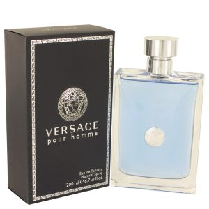 Versace Pour Homme by Versace Eau De Toilette Spray 6.7 oz Men