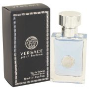 Versace Pour Homme by Versace Eau De Toilette Spray 1 oz Men