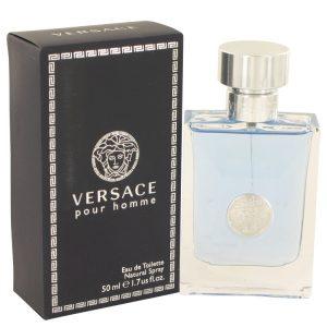 Versace Pour Homme by Versace Eau De Toilette Spray 1.7 oz Men