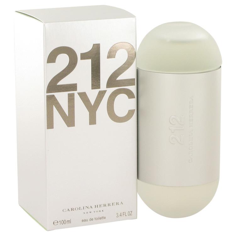 212 by Carolina Herrera Eau De Toilette Spray (New Packaging) 3.4 oz Women
