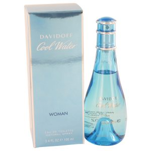 COOL WATER by Davidoff Eau De Toilette Spray 3.4 oz Women