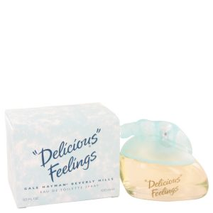 DELICIOUS FEELINGS by Gale Hayman Eau De Toilette Spray (New Packaging) 3.4 oz Women