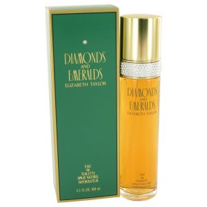 DIAMONDS & EMERALDS by Elizabeth Taylor Eau De Toilette Spray 3.3 oz Women