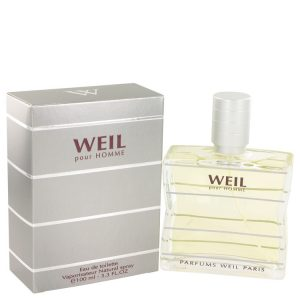 Weil Pour Homme by Weil Eau De Toilette Spray 3.4 oz Men