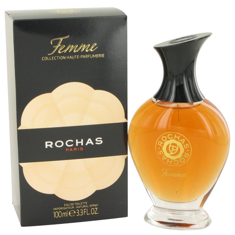 FEMME ROCHAS by Rochas Eau De Toilette Spray 3.4 oz Women
