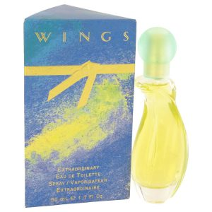 WINGS by Giorgio Beverly Hills Eau De Toilette Spray 1.7 oz Women