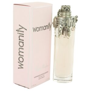 Womanity by Thierry Mugler Eau De Parfum Refillable Spray 2.7 oz Women