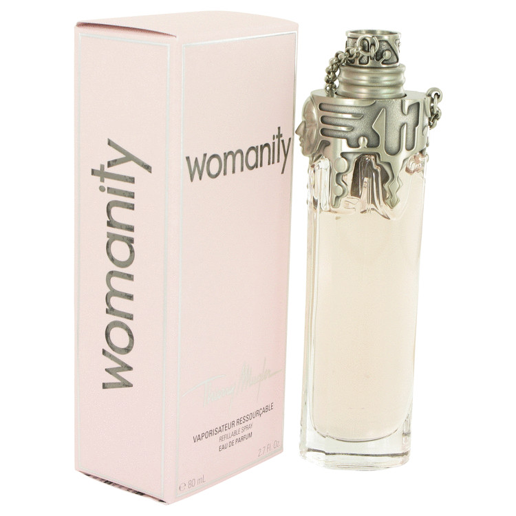 Womanity by Thierry Mugler Eau De Parfum Refillable Spray 2.7 oz Women