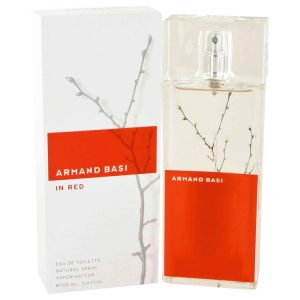 Armand Basi in Red by Armand Basi Eau De Toilette Spray 3.4 oz Women