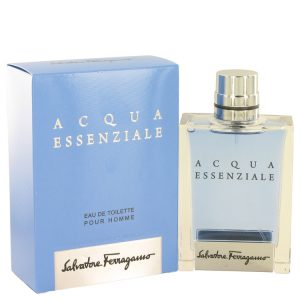 Acqua Essenziale by Salvatore Ferragamo Eau De Toilette Spray 3.4 oz Men