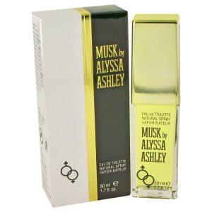 Alyssa Ashley Musk by Houbigant Eau De Toilette Spray 1.7 oz Women
