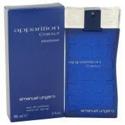 Apparition Cobalt by Ungaro Eau De Toilette Spray 3 oz Men