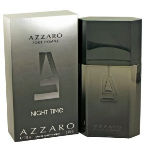 Azzaro Night Time by Azzaro Eau De Toilette Spray 3.4 oz Men