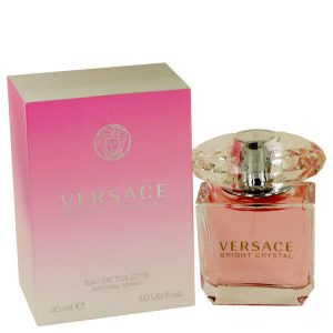 Bright Crystal by Versace Eau De Toilette Spray 1 oz Women