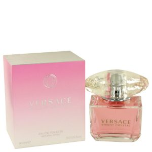 Bright Crystal by Versace Eau De Toilette Spray 3 oz Women