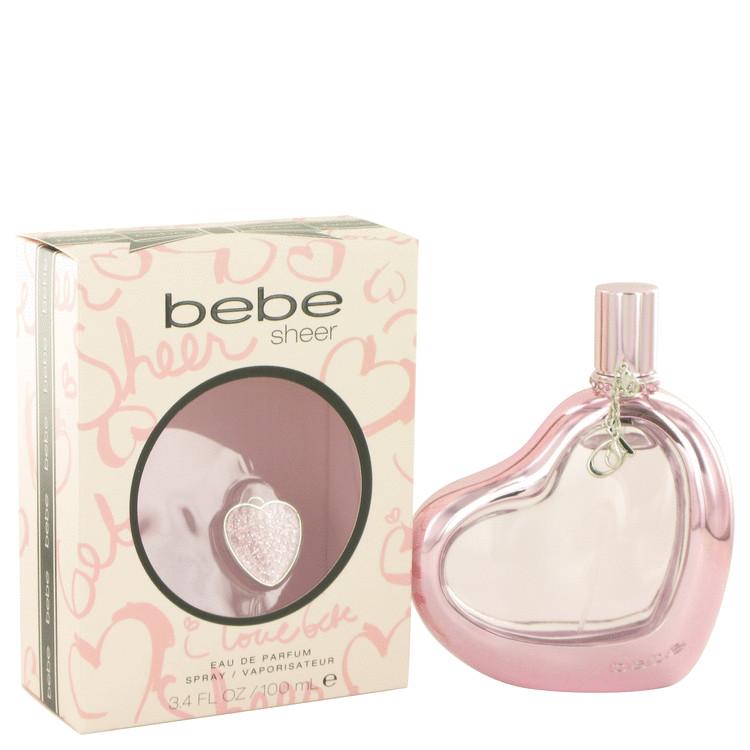 Bebe Sheer by Bebe Eau De Parfum Spray 3.4 oz Women