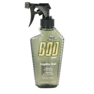 Bod Man Lights Out by Parfums De Coeur Body Spray 8 oz Men