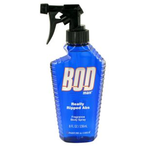 Bod Man Really Ripped Abs by Parfums De Coeur Fragrance Body Spray 8 oz Men