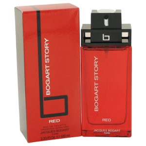 Bogart Story Red by Jacques Bogart Eau De Toilette Spray 3.4 oz Men