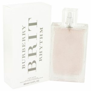 Burberry Brit Rhythm by Burberry Eau De Toilette Spray 3 oz Women